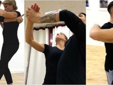 Apprendre à danser en 10 leçons : défi relevé avec succès par Julien POLI dans notre école.