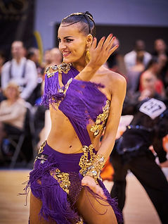 Severine Asnar, danse sportive, paris