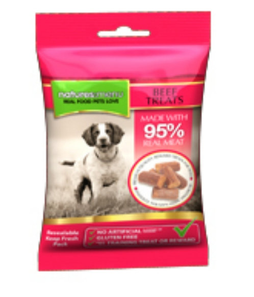 Nature's Menu 95% Meat -Beef and Pork Treats
