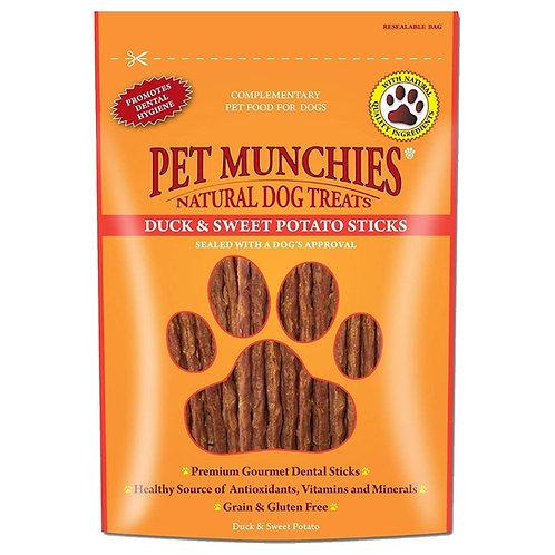 Pet Munchies Duck & Sweet Potato Sticks Treats