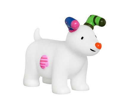 Snowdog Small Squeaky Toy