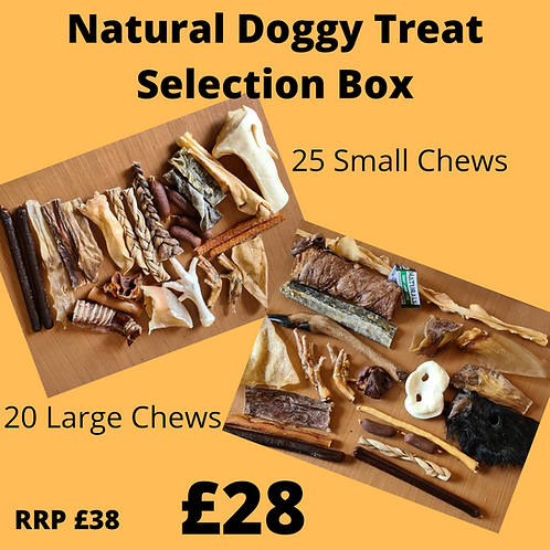 Natural Doggy Chew Selection Bundle