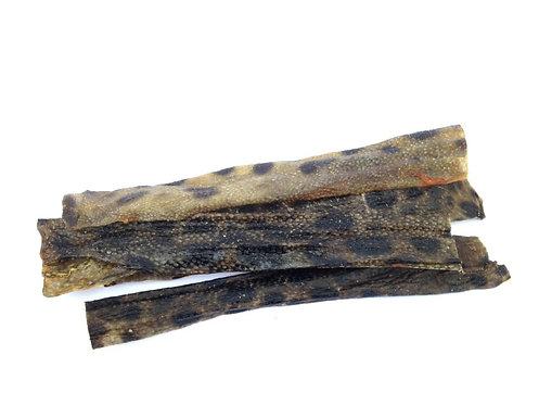 Wolf Fish Skin- Medium Flat Chews