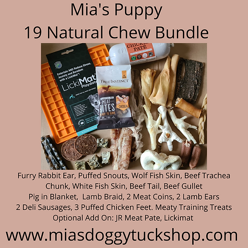 Puppy and Small Dog Chew Bundle