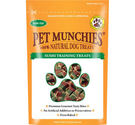 Pet Munchies Sushi Dog Training Treats