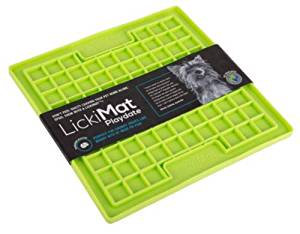 LICKIMAT Playdate Treat Mat for Dogs, Cats & Puppies