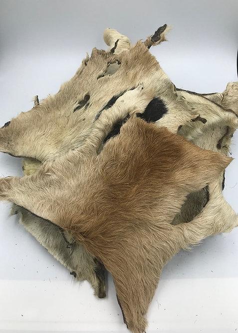 Beef Hide Bark with Fur