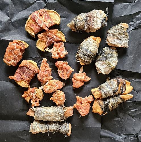 Mia's Sushi Mix - 5 Varieties of Natural Fishy Treats