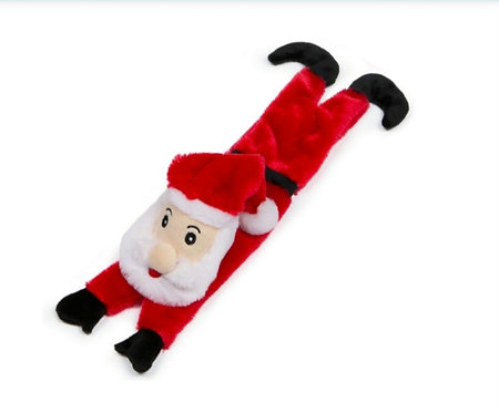 Christmas Stuffed Head Squeaky Santa