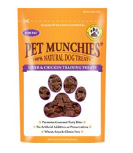 Pet Munchies Liver and Chicken Training Treats 50g