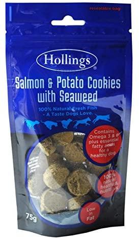 Hollings Salmon, Potato & Seaweed Cookies for Dogs 75g