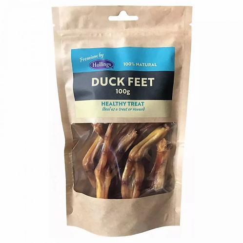 Hollings Duck Feet 100g Bag