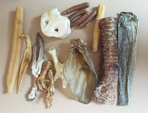 Large Dog Small Variety Bundle  of Chews