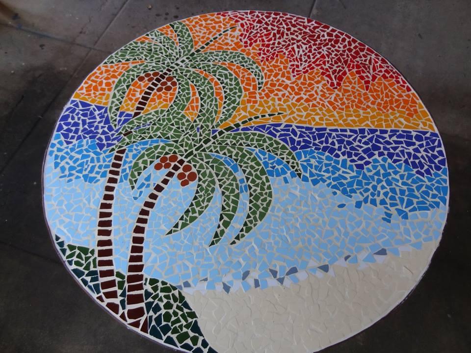 mesa coqueiro