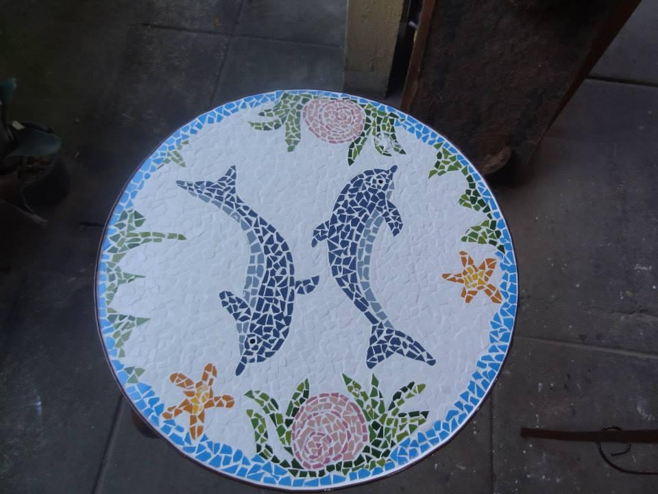 mesa golfinhos