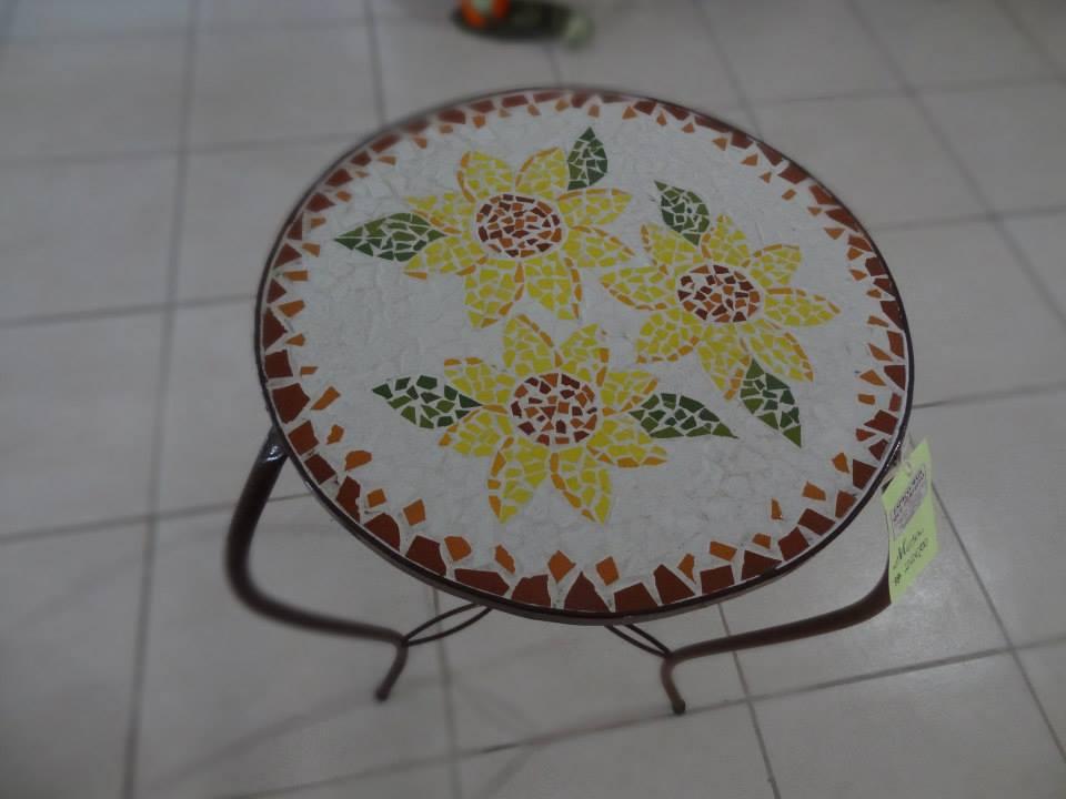 mesa girassol