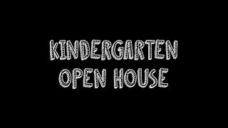Kindergarten's Virtual Open House Zoom meeting done on February 17, 2021.