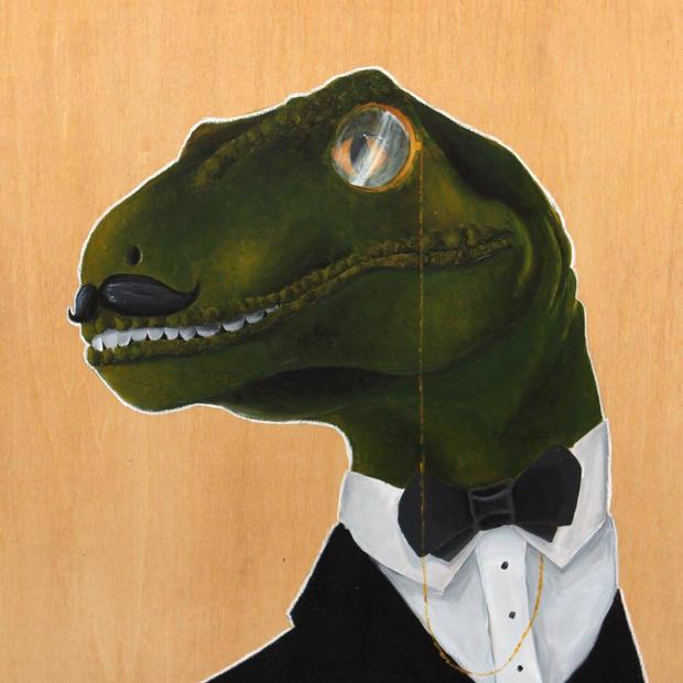 Dapper Velociraptor