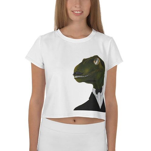 Velociraptor Crop Tee