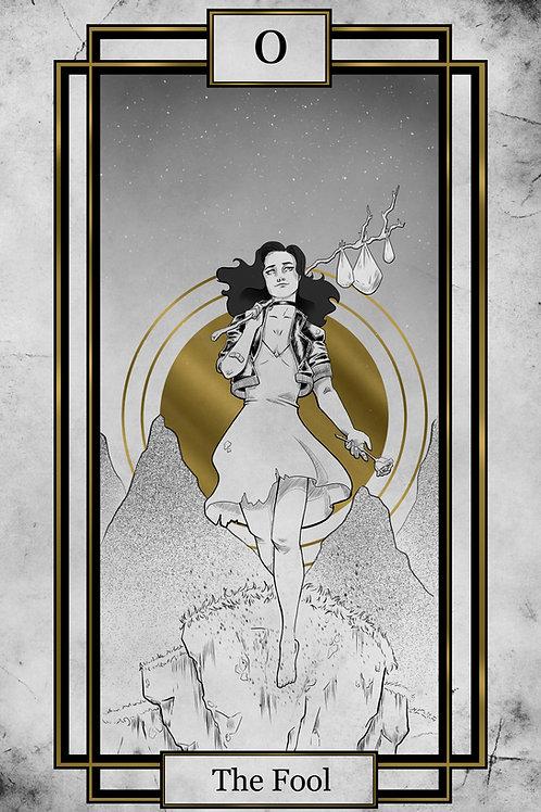 Tarot - The Fool - 11x17 print
