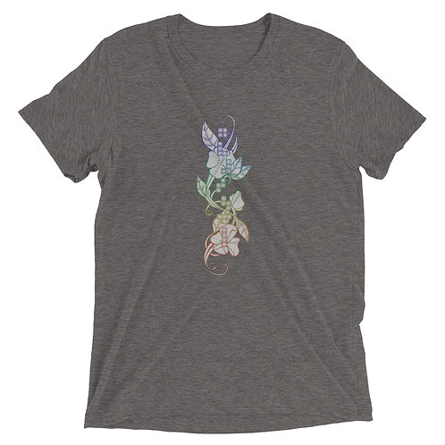 Retro Floral- Unisex T Shirt