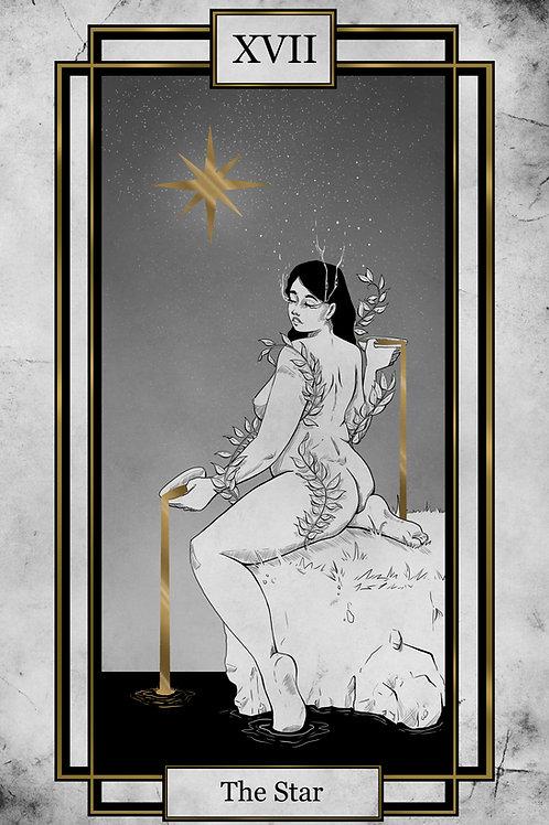 Tarot - The Star - 11x17 Print