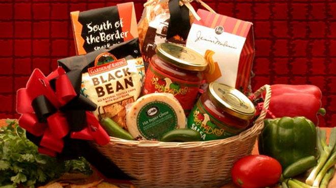 Lets Spice it up! Salsa Gift Basket (Med)