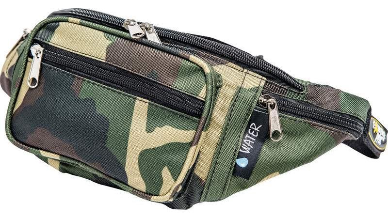 INVISIBLE CAMO WAIST BAG