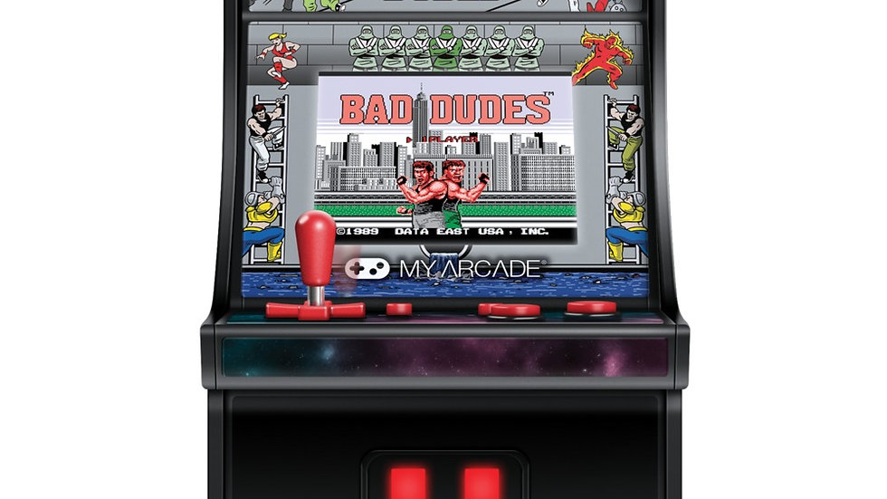 My Arcade DGUNL-3214 Bad Dudes Micro Player