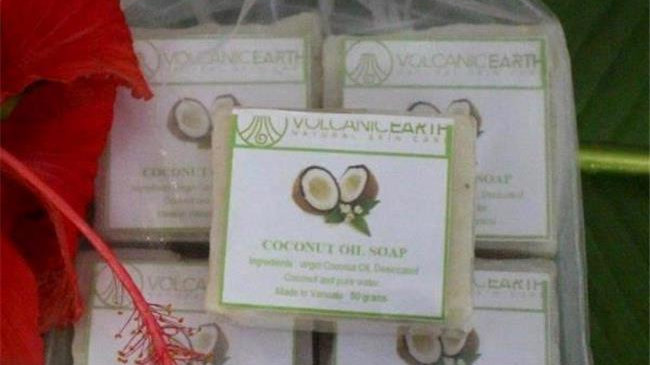 Volcanic Earth P5COS 50 g Coconut Oil Soap - Small; Pack of 5