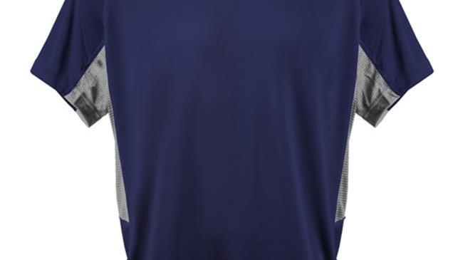 3N2 3020-03-XXL Kzone Curve Men T-Shirt; Navy - 2XL