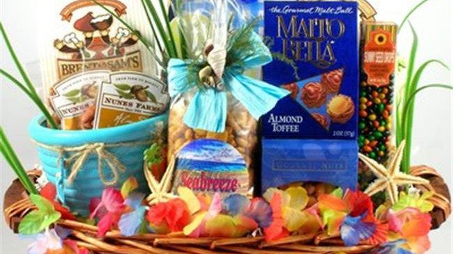 BiKa Big Kahuna; Tropical Gift Basket