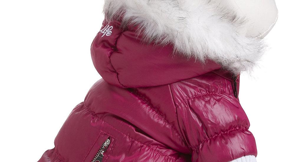 Metallic Fashion Pet Parka Coat