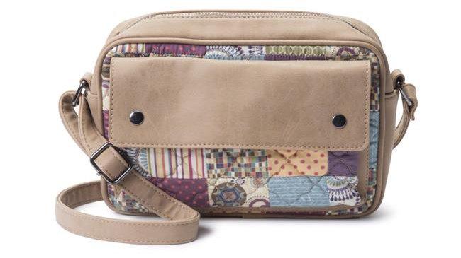 American Heritage Textiles  Allison Hipster Handbag; Carnival; Multi Color