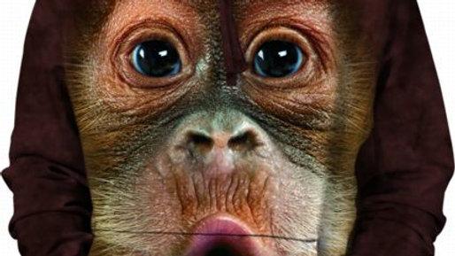 BABY ORANGUTAN FACE - S