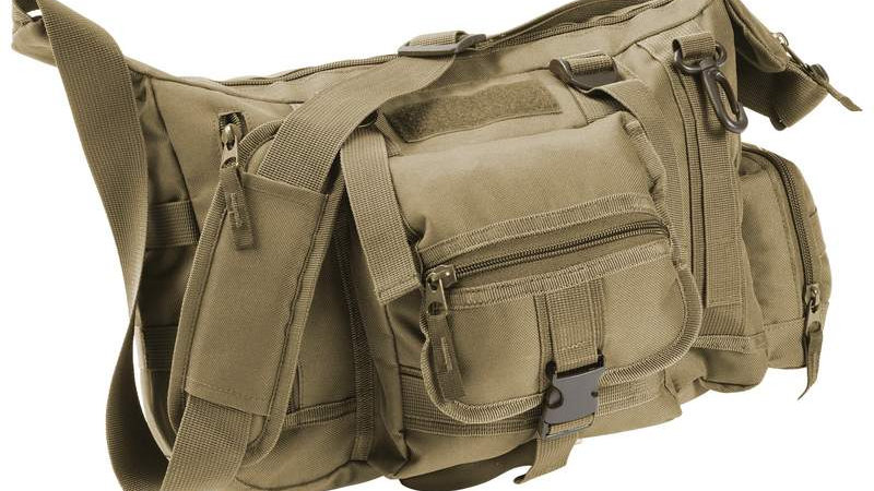 TACTICAL STYLE MESSENGER BAG