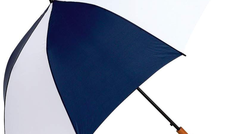 "ALL-WEATHER 60"" UMBRELLA-NV/WH"