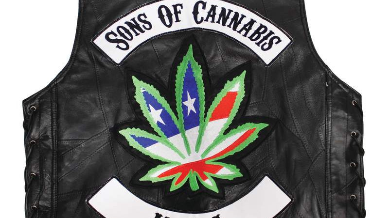 """""""SONS OF CANNABIS VEST""""-M"""