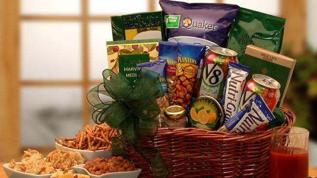 Heart Healthy Gourmet Gift Basket (Med)