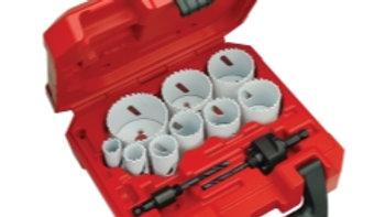 Milwaukee 13-Piece Hole Dozer General Purpose Ice Hardened Hole Saw Kit