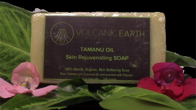 Volcanic Earth CSTO 3.35 oz Tamanu Oil Soap
