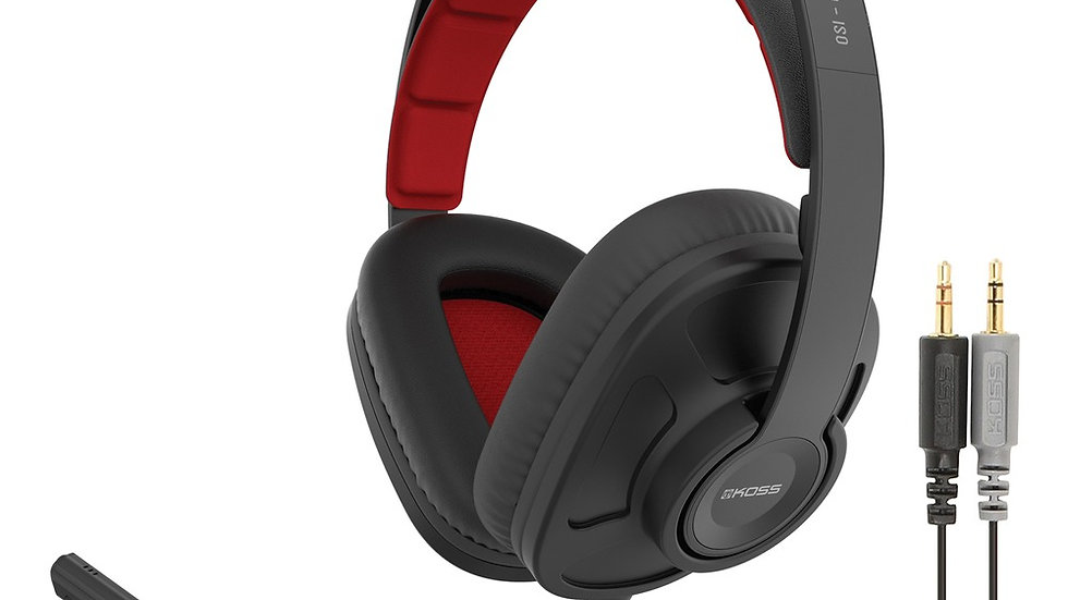 KOSS 191958 GMR-540-ISO Closed-Back Gaming Headphones