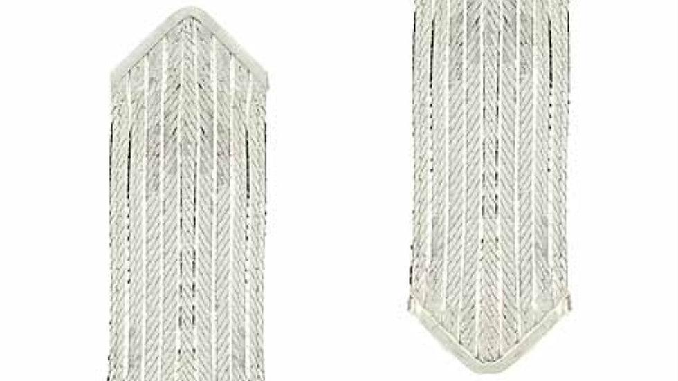 Sterling Silver .925 Chain Dangle Long Earrings