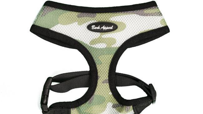 Bark Appeal CBEZ-M Breathe EZ Harness; Camouflage - Medium