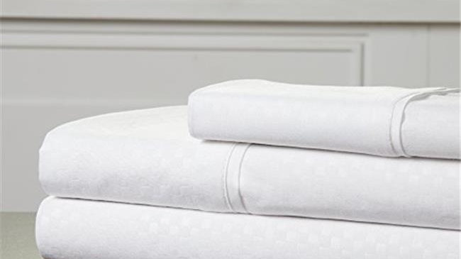 Bedford Home 66A-97816 Embossed Sheet Set