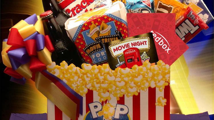 Movie Madness Snack Gift Basket (Med)