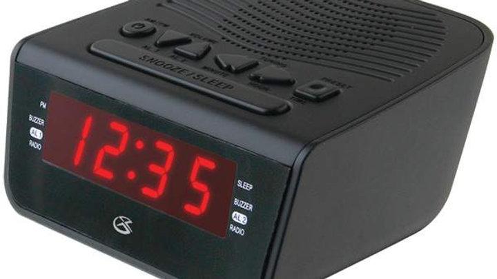 0.6 LED AM/FM CLOCK