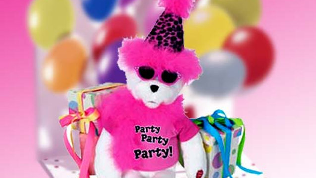 Get The Party Started Bear 15""