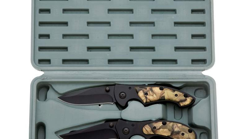 3PC  KNIFE SET IN BLOW CASE