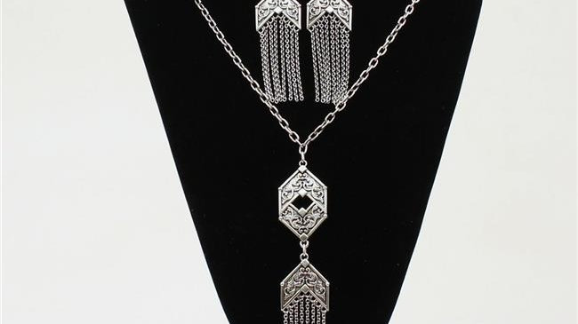 Blazin Roxx 29096 Chain Fringe Jewellery Set